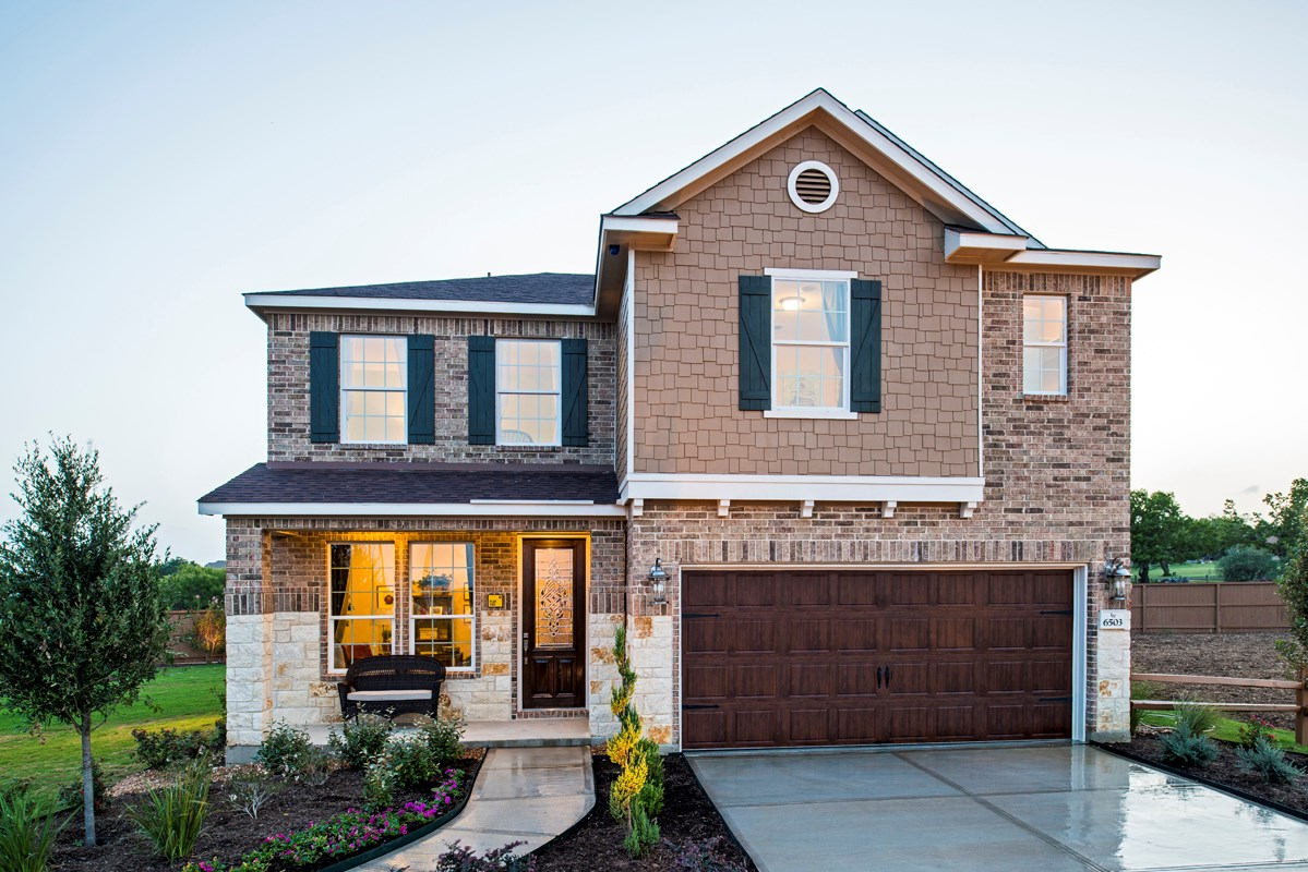 New Homes in San Antonio, TX - Ironwood at Crestway The 2505