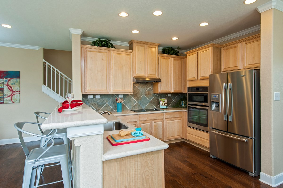 New Homes in San Antonio, TX - Ironwood at Crestway The 2505 Kitchen
