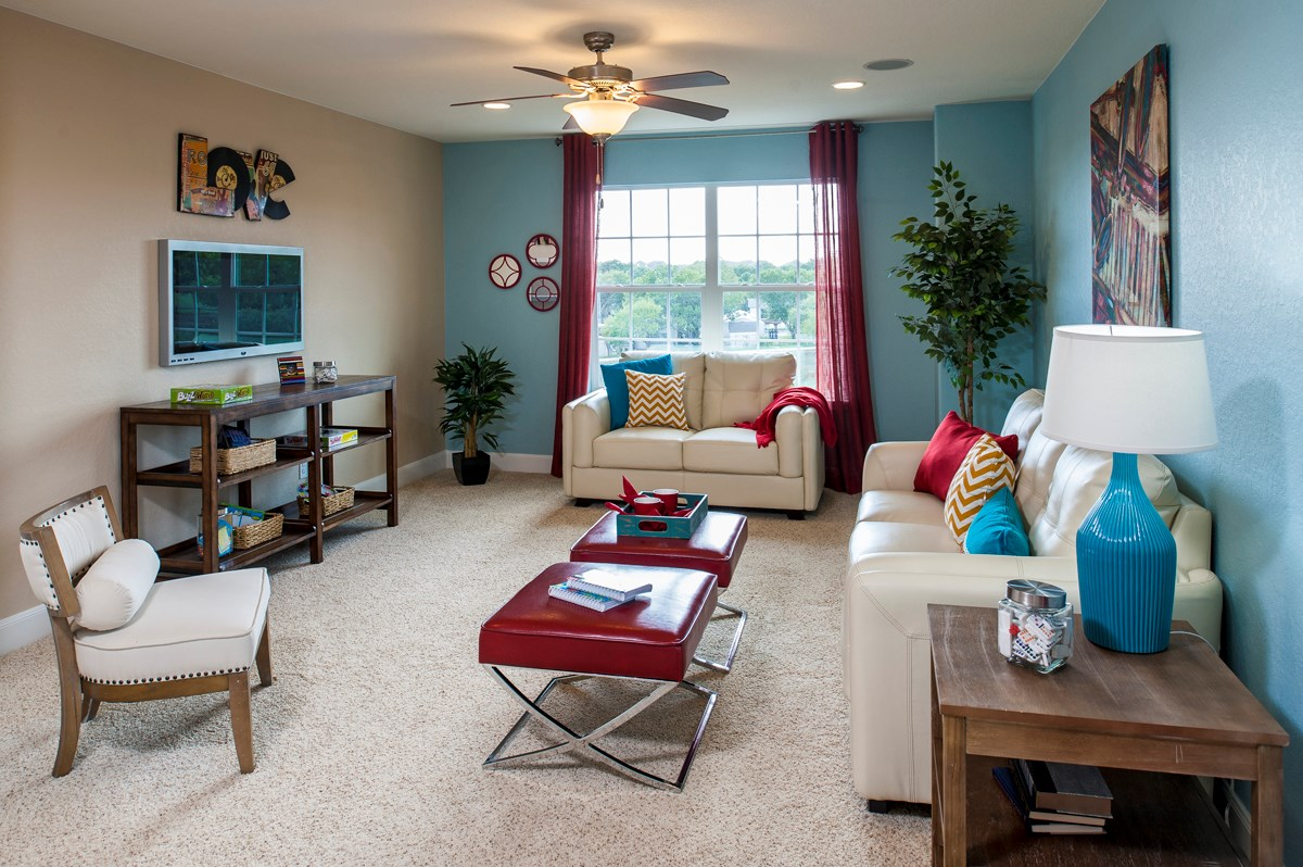 New Homes in San Antonio, TX - Ironwood at Crestway The 2505 Game Room