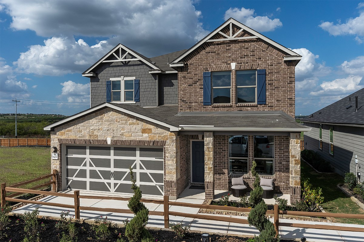 New Homes in Converse, TX - Knox Ridge The 2700
