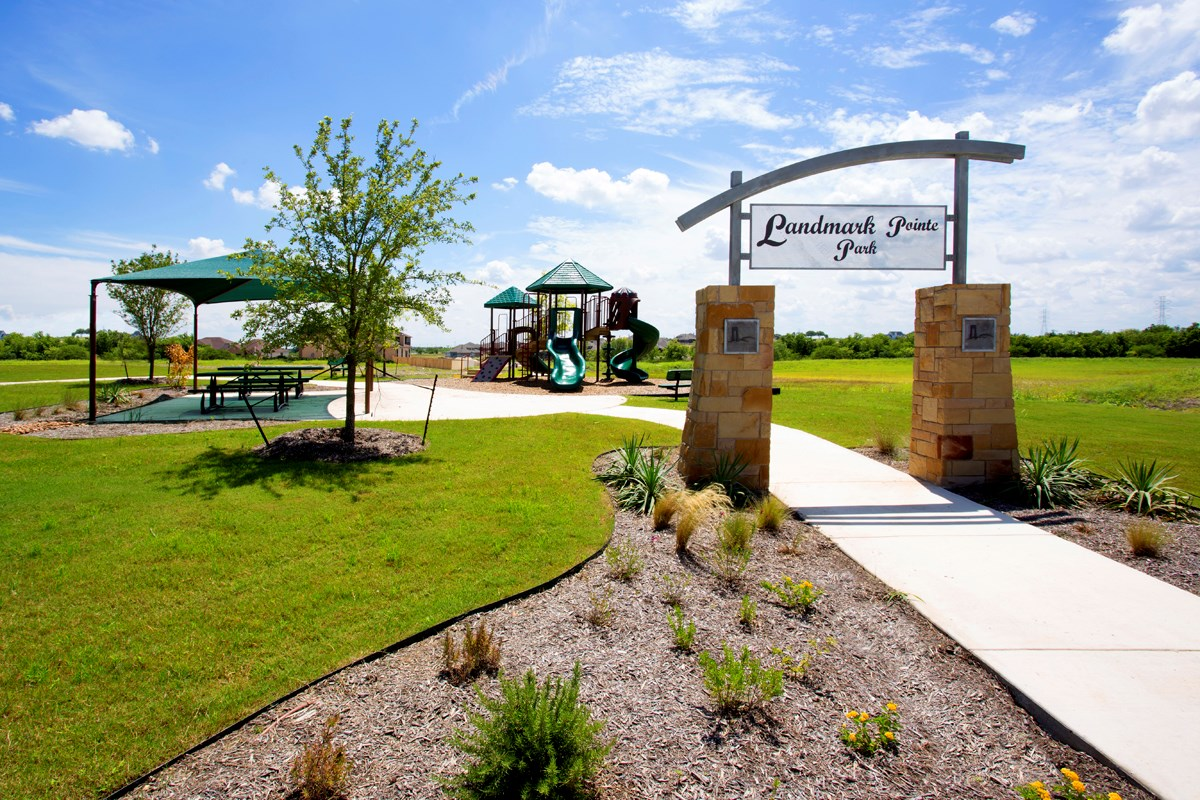 New Homes in Cibolo, TX - Landmark Pointe Community Park