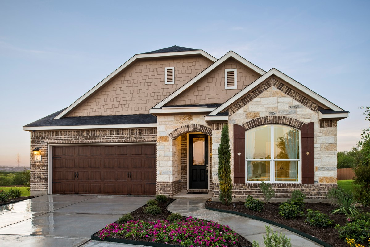 New Homes in Cibolo, TX - Landmark Pointe The 2655