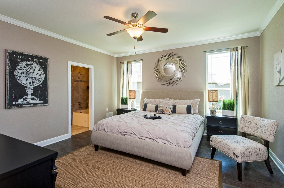 New Homes in Cibolo, TX - Landmark Pointe The 2655 Master Bedroom