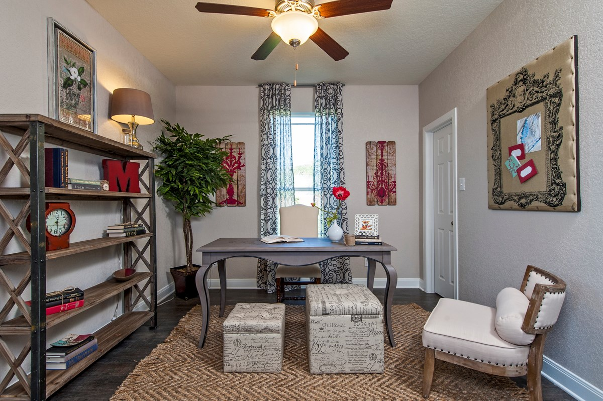 New Homes in Cibolo, TX - Landmark Pointe The 2655 Study