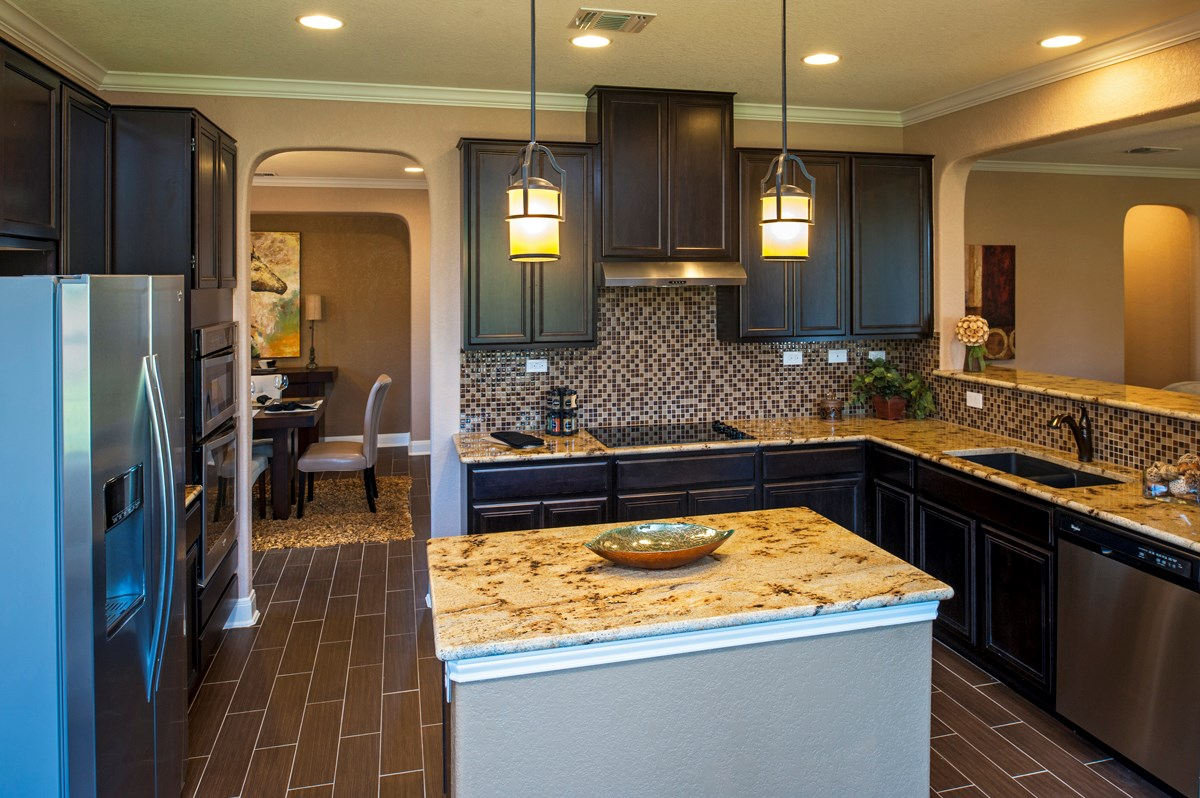 New Homes in Cibolo, TX - Landmark Pointe The 3125 Kitchen