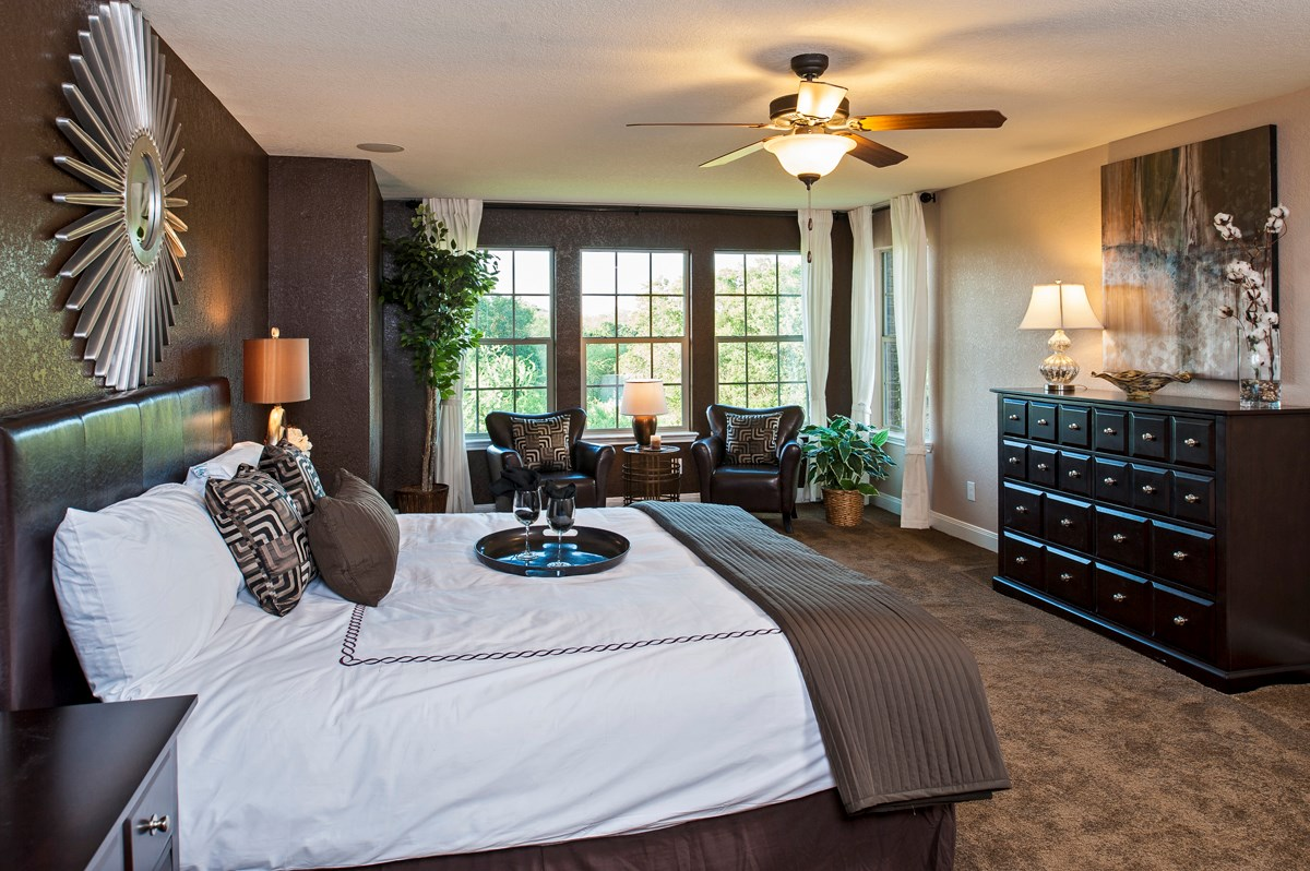 New Homes in Cibolo, TX - Landmark Pointe The 3125 Master Bedroom