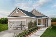 New Homes in San Antonio, TX - Plan 1353 Modeled