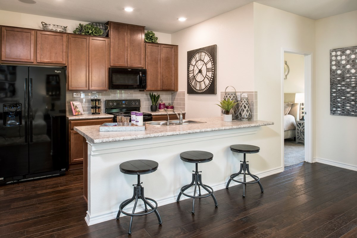 New Homes in San Antonio, TX - Loma Mesa The 1353 Kitchen