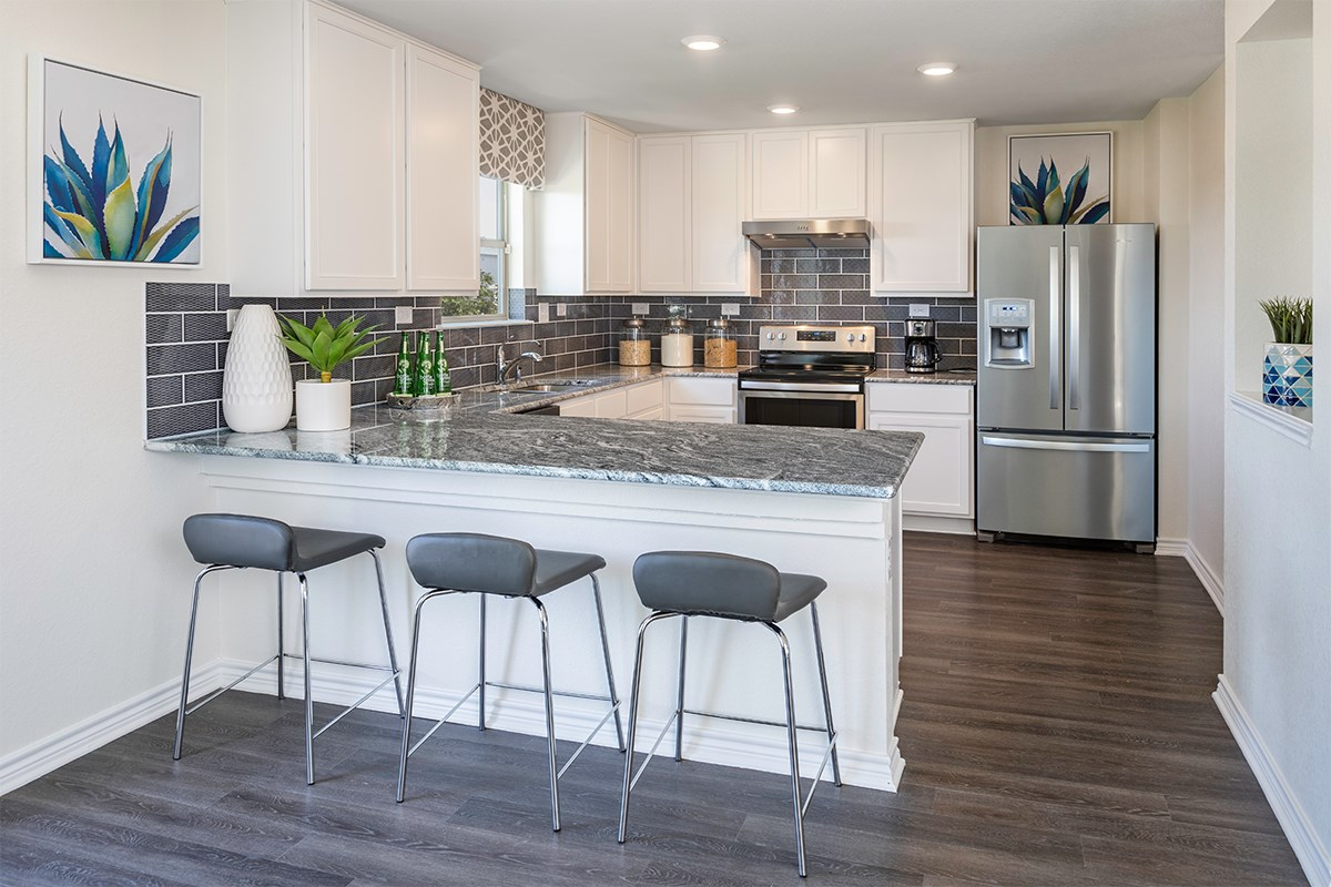 New Homes in San Antonio, TX - Marbella The 2088 Kitchen