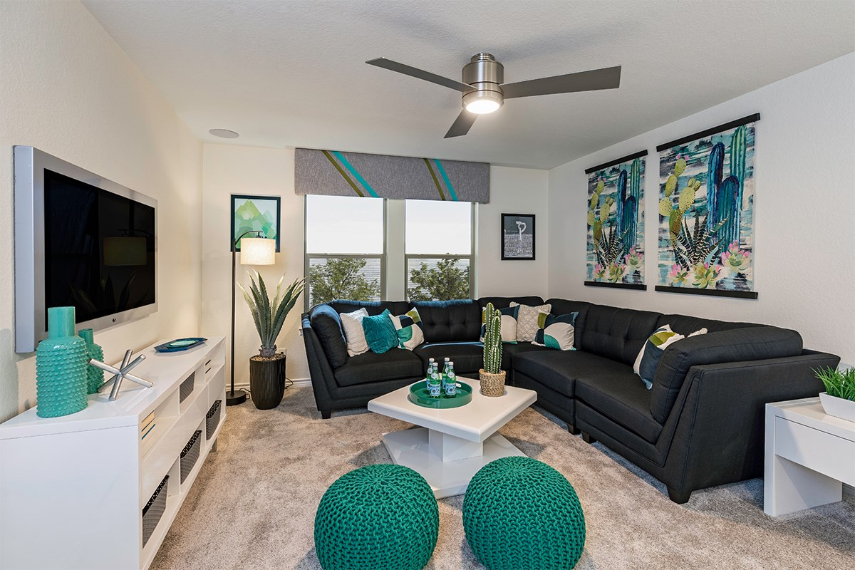 New Homes in San Antonio, TX - Marbella The 2088 Loft