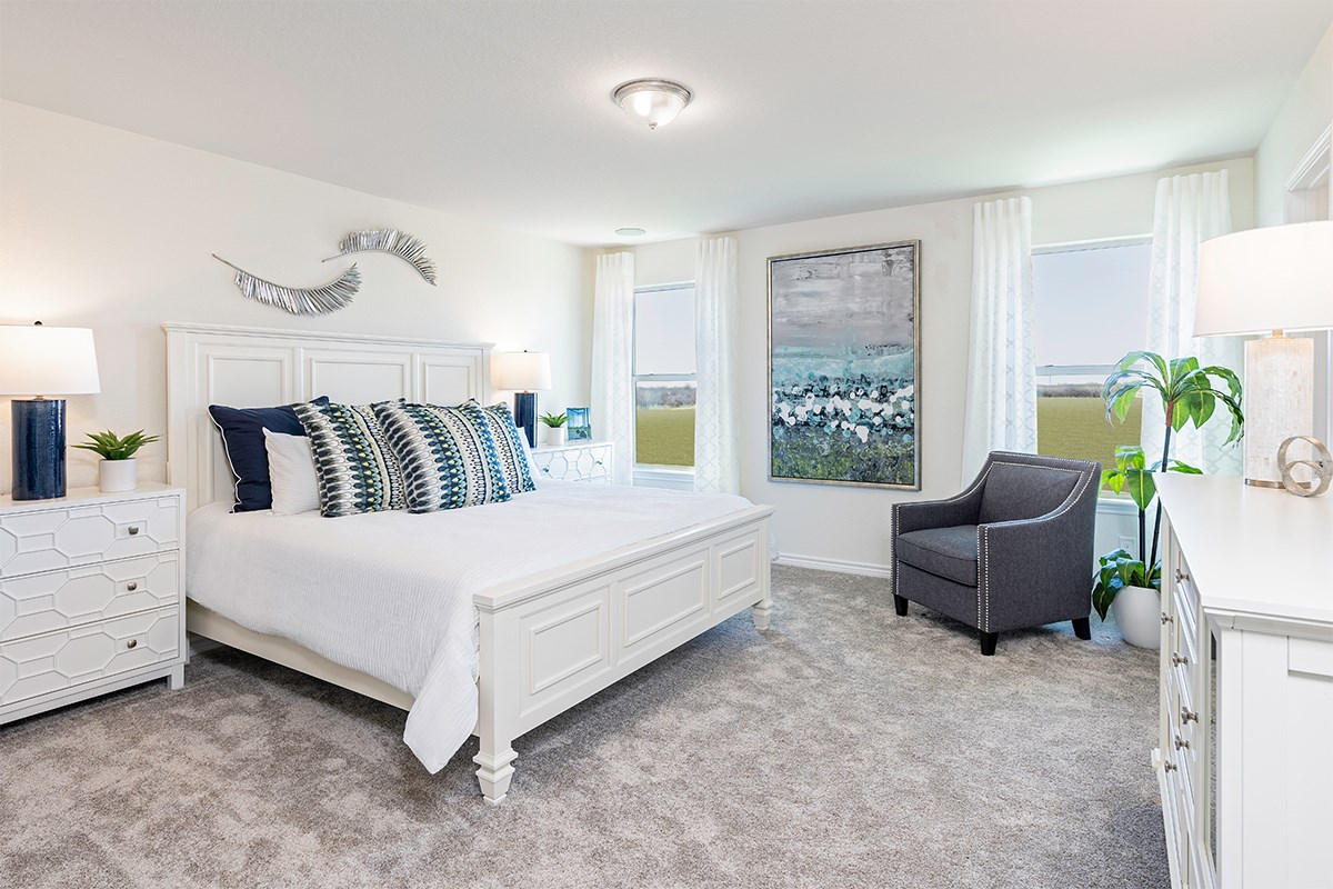 New Homes in San Antonio, TX - Marbella The 2088 Master Bedroom