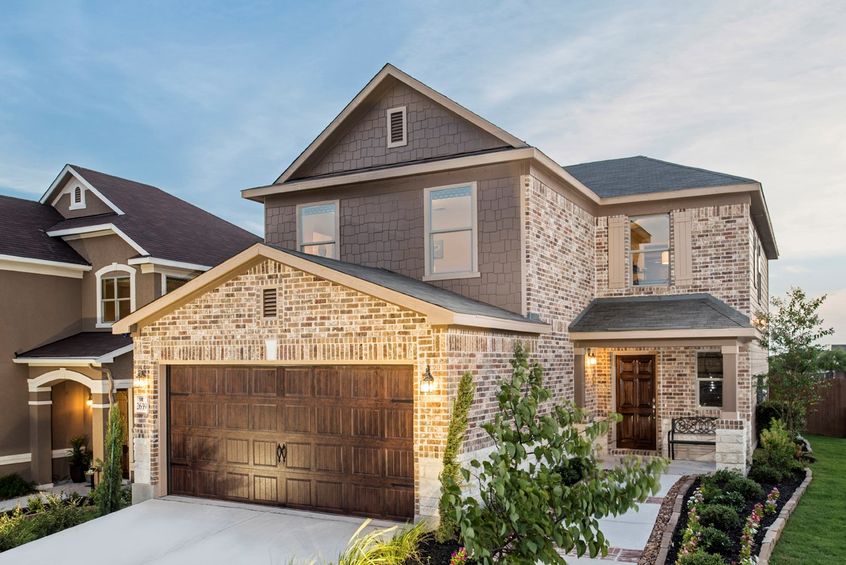 New Homes in San Antonio, TX - Miller Ranch The 2239