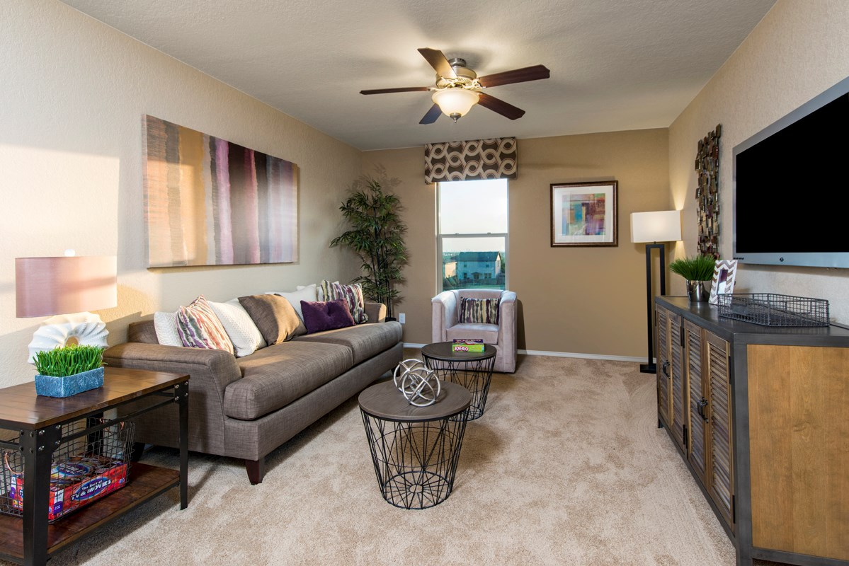 New Homes in San Antonio, TX - Dove Creek The 2239 Loft as modeled at Miller Ranch