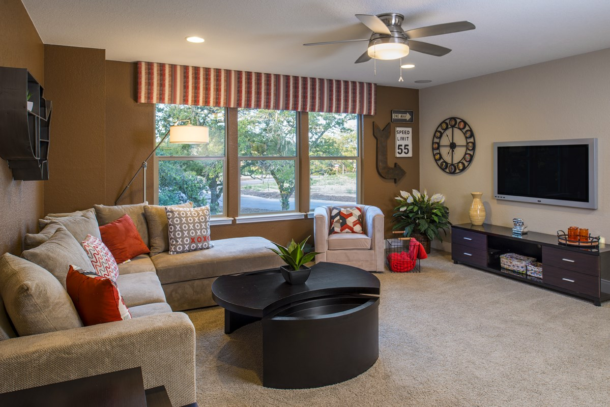New Homes in Boerne, TX - Mirabel The 3475 Game Room