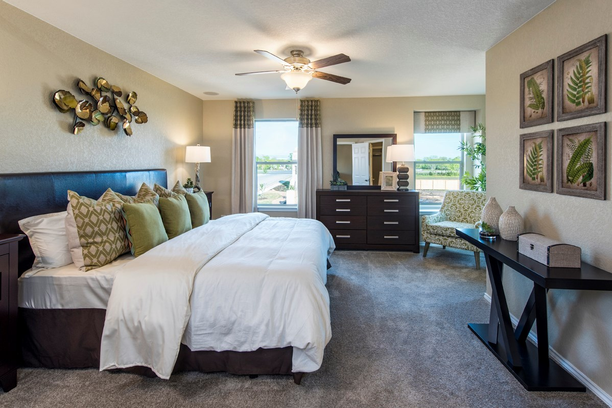 New Homes in San Antonio, TX - Misiones The 1909 Master Bedroom