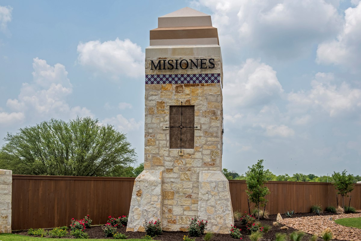 New Homes in San Antonio, TX - Misiones Community Entry