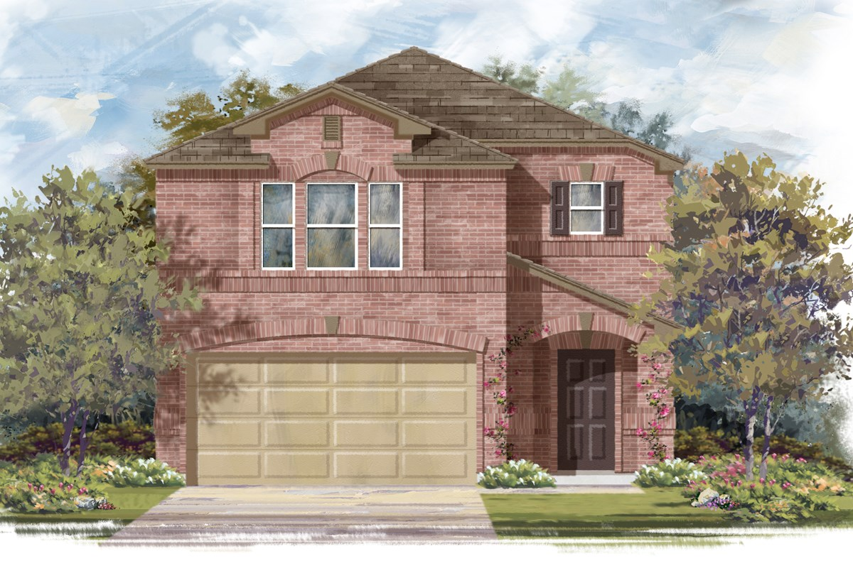 New Homes in San Antonio, TX - Mustang Valley