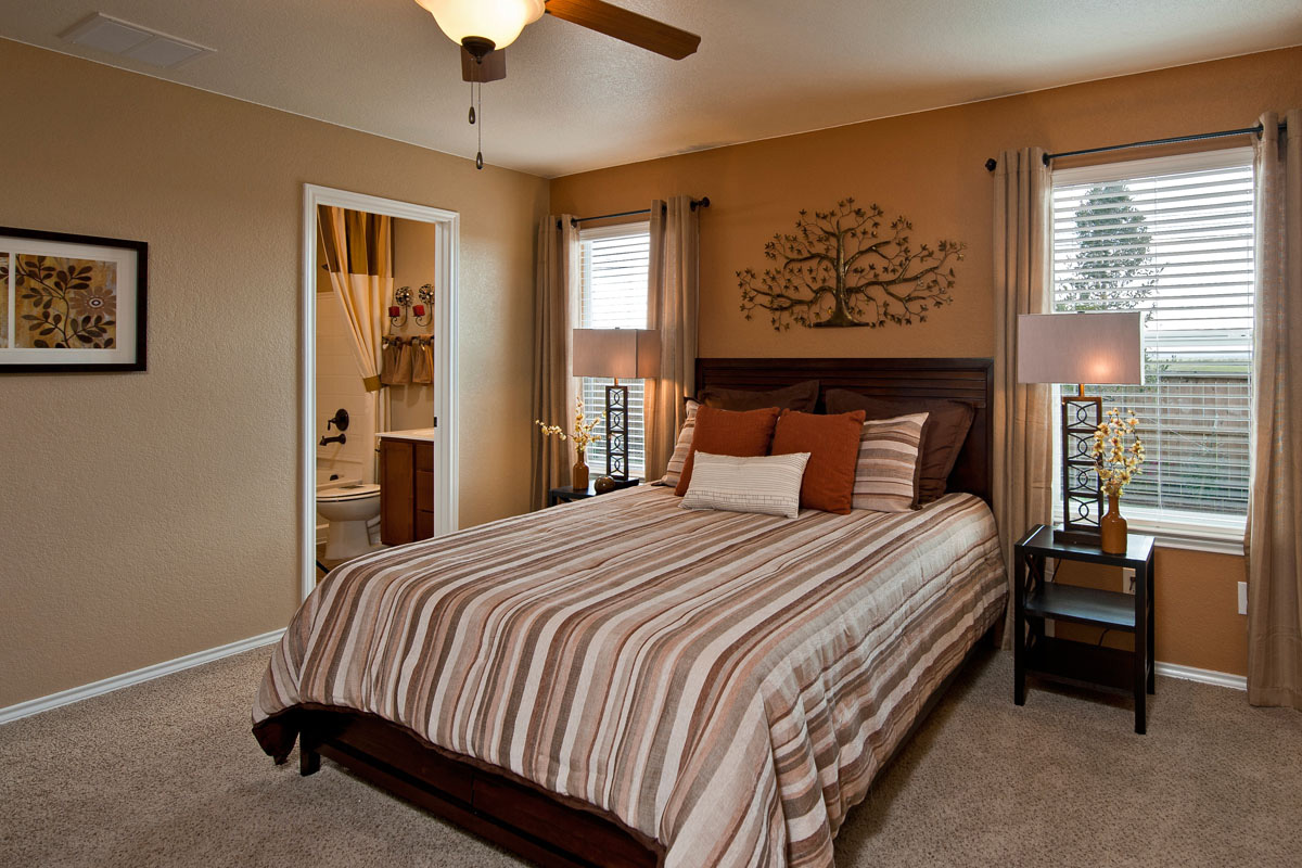 The 1340 Master Bedroom
