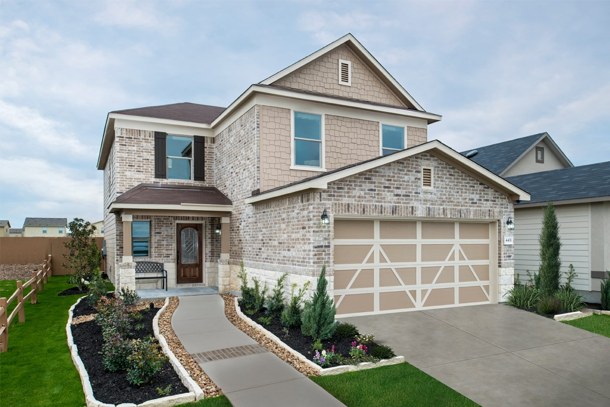 New Homes in San Antonio, TX - The Reserve at Southton Ranch The 2239
