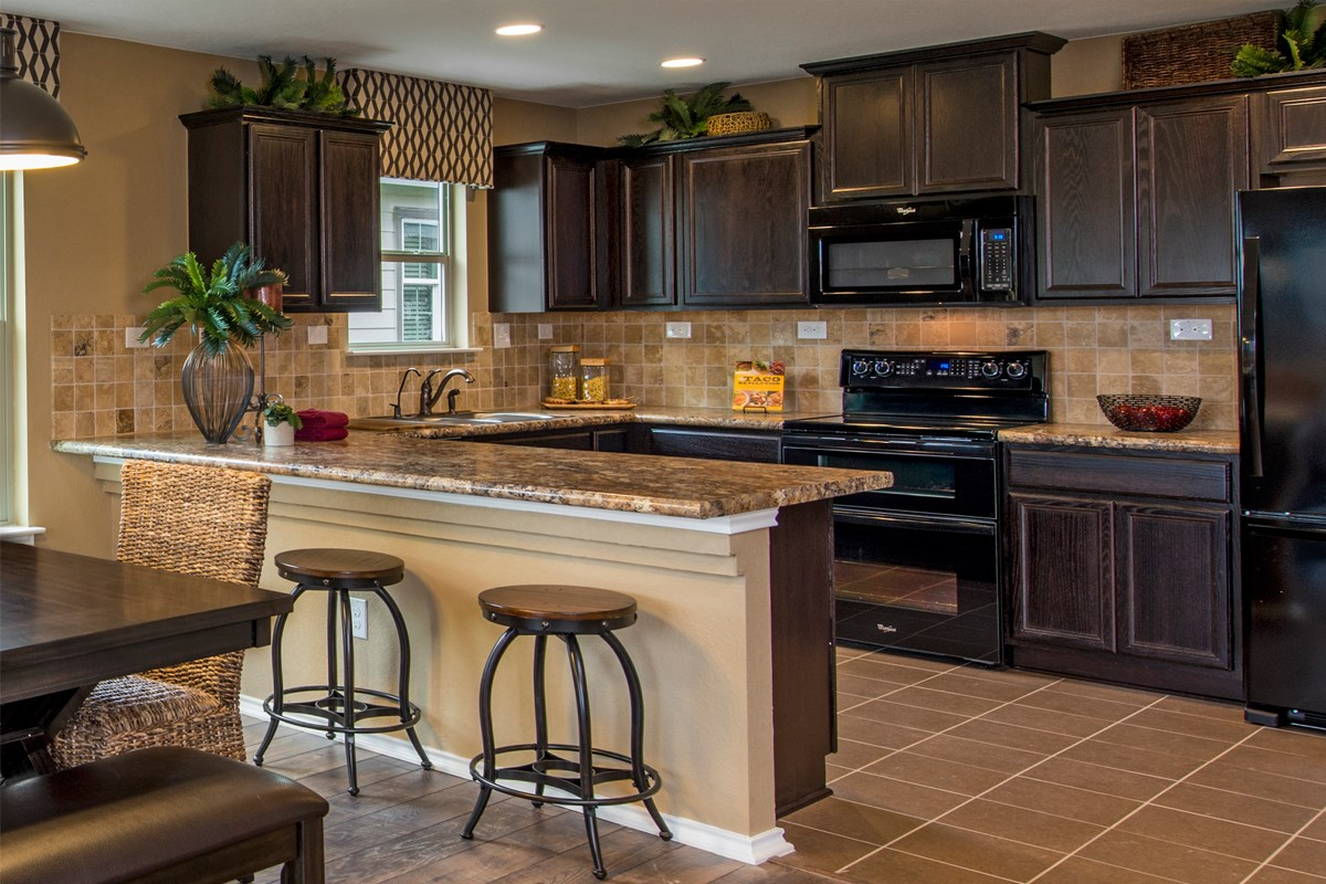 New Homes in San Antonio, TX - The Reserve at Southton Ranch The 2239 Kitchen