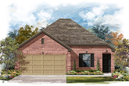 New Homes in San Antonio, TX - The 1516 B