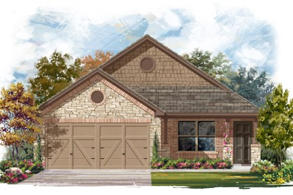 New Homes in San Antonio, TX - The 1516 D