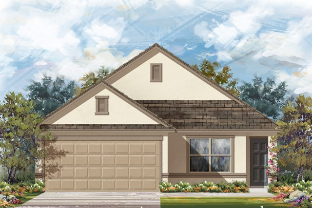New Homes in Boerne, TX - The 1516 K