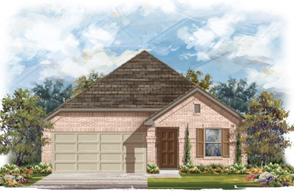 New Homes in San Antonio, TX - The 1647 B