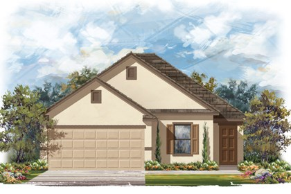 New Homes in San Antonio, TX - The 1694 E