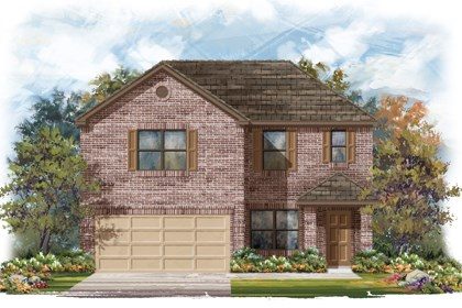 New Homes in San Antonio, TX - The 2177 B