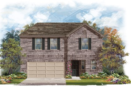 New Homes in San Antonio, TX - The 2412 B