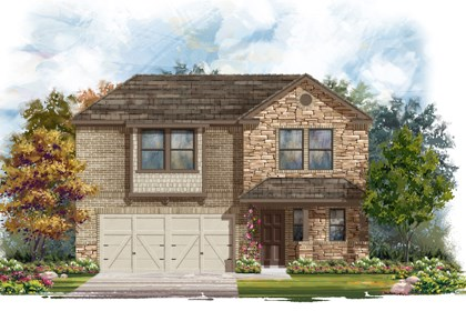 New Homes in San Antonio, TX - The 2412 D