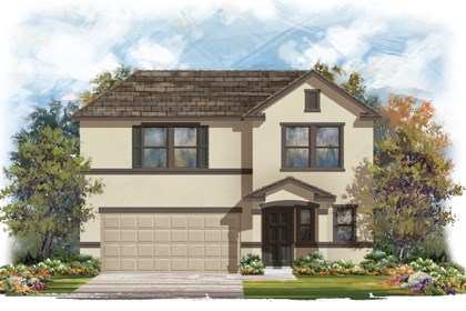 New Homes in San Antonio, TX - The 2412 E