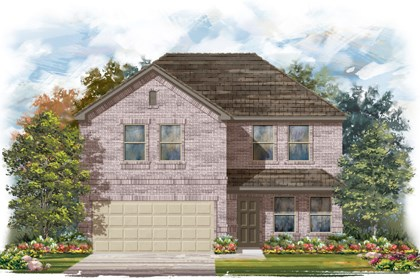 New Homes in San Antonio, TX - The 2561 C