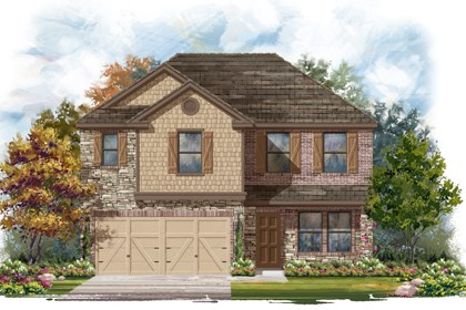 New Homes in San Antonio, TX - The 2561 D
