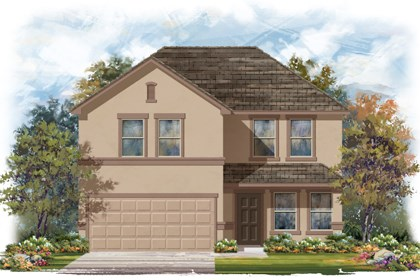 New Homes in San Antonio, TX - The 2561 E