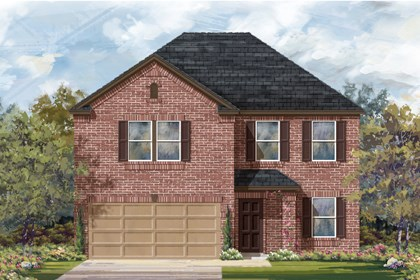 New Homes in San Antonio, TX - Plan 2898 B