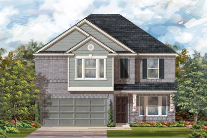 New Homes in San Antonio, TX - Plan 2898 C