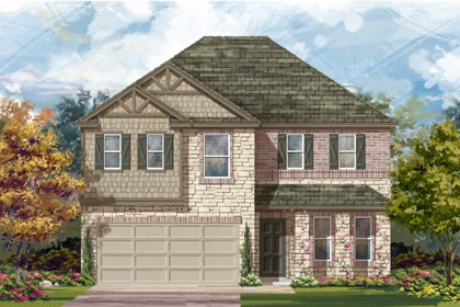 New Homes in San Antonio, TX - Plan 2898 D