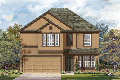 New Homes in San Antonio, TX - Plan 2898 E