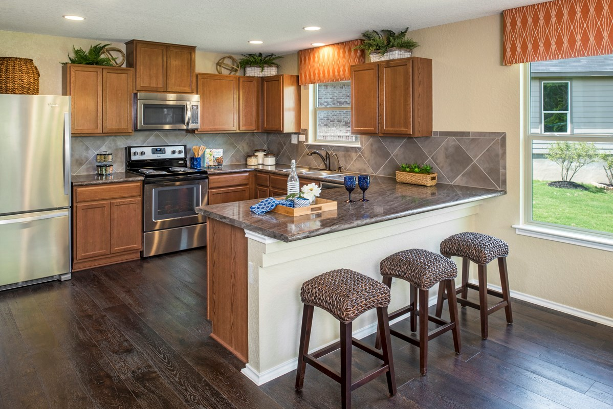 New Homes in San Antonio, TX - The Overlook at Medio Creek The 2239 Kitchen