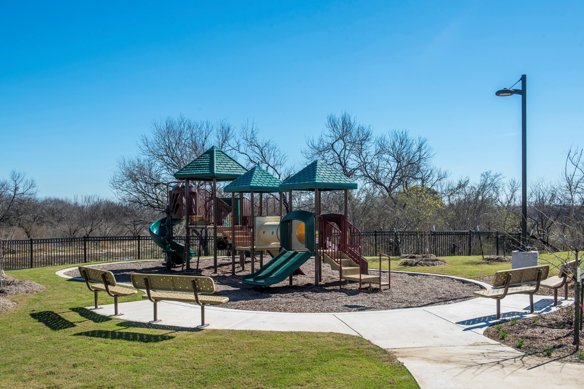 New Homes in San Antonio, TX - The Overlook at Medio Creek Community Playground