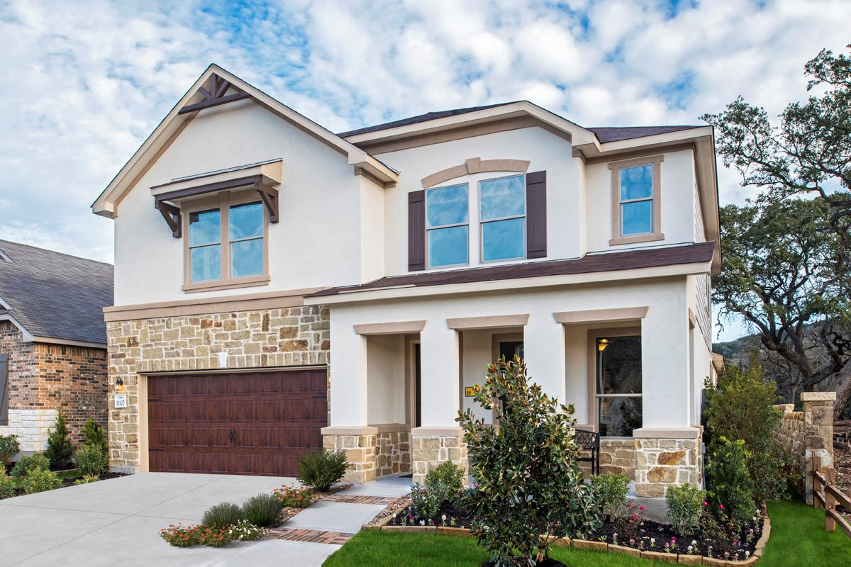 New Homes in Helotes, TX - The Ridge at Bandera The 3417