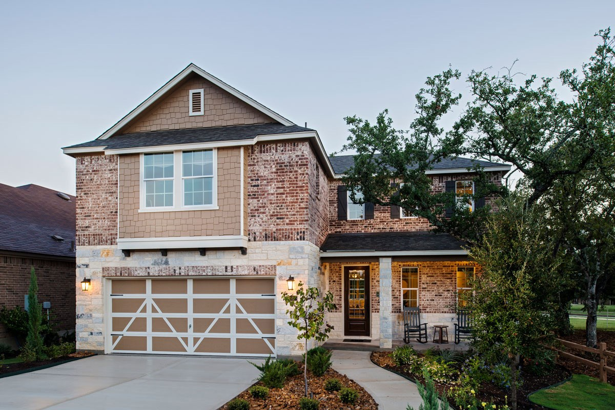 New Homes in Boerne, TX - Trails at Herff Ranch The 2502