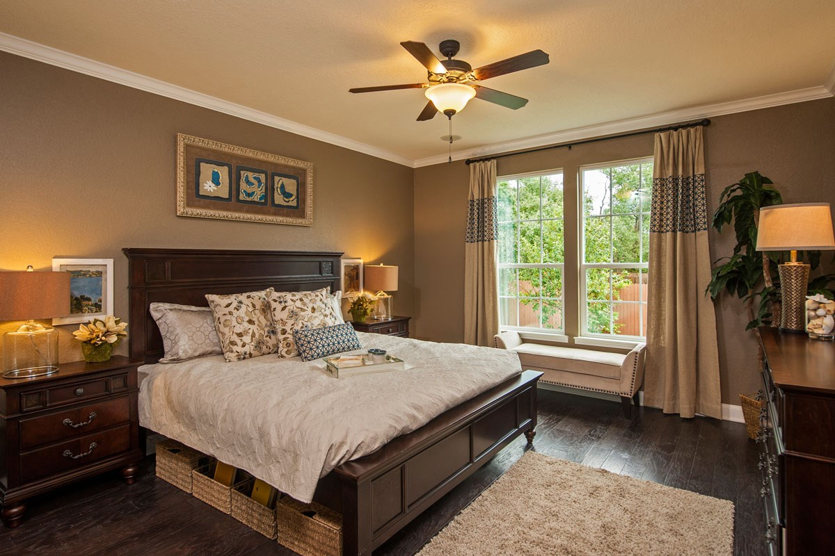 New Homes in Boerne, TX - Trails at Herff Ranch The 2502 Master Bedroom