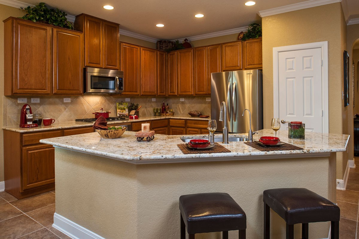 New Homes in Boerne, TX - Trails at Herff Ranch The 2004 Kitchen