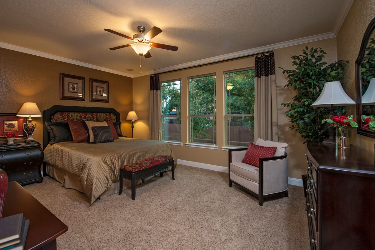 New Homes in Boerne, TX - Trails at Herff Ranch The 2004 Master Bedroom