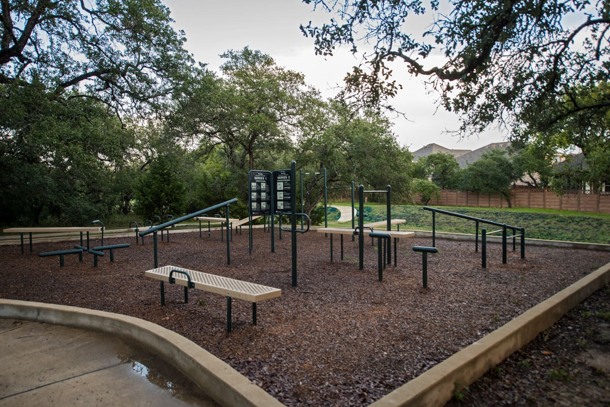 New Homes in Boerne, TX - Trails at Herff Ranch Community Fitness