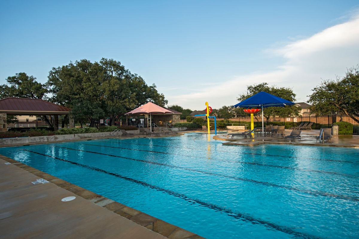 New Homes in Boerne, TX - Trails at Herff Ranch Community Pool