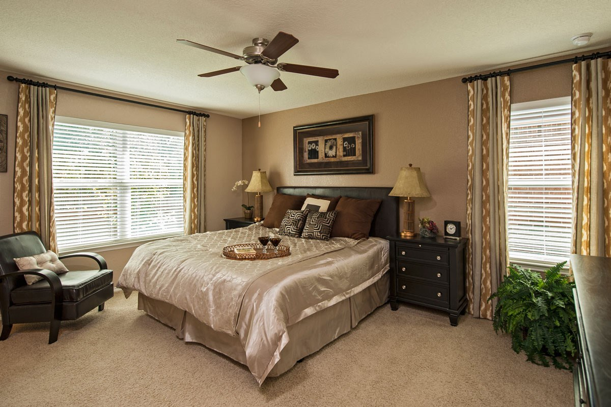 New Homes in Boerne, TX - Trails at Herff Ranch - Sterling Collection The 2561 Master Bedroom